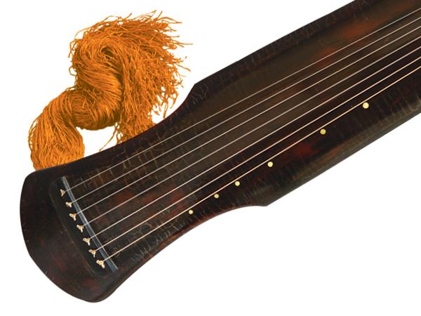 伏羲式百年老杉木演奏级断纹古琴